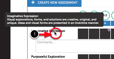 Step 6: Select Criterion Performance Levels