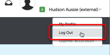 Step 6: Log Out