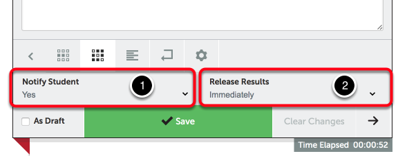 Step 3: Select Notify & Release Options
