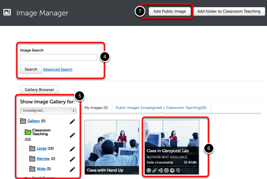 Step 2: Locate and Manage Images
