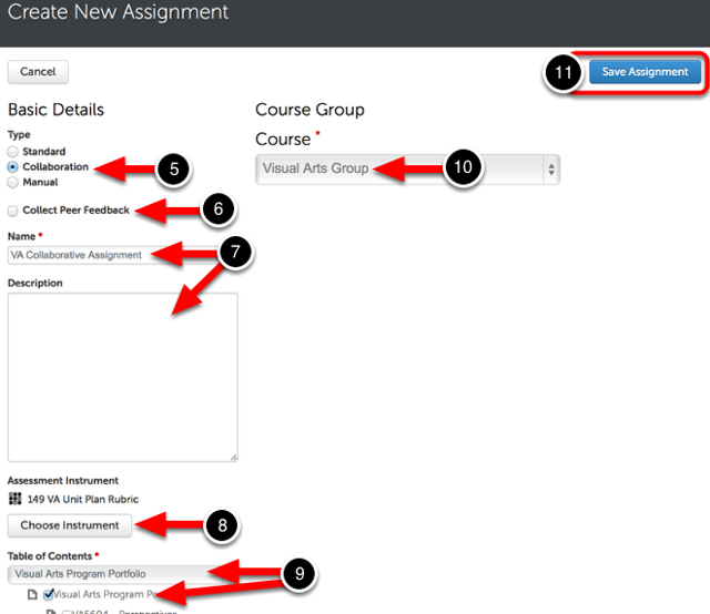 Step 3: Complete Assignment's Initial Setup