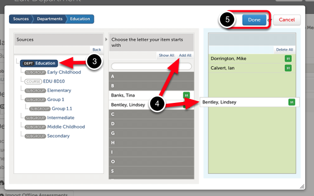 Step 2: Select Users