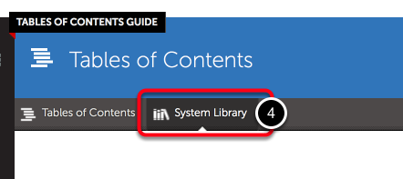 Step 2: Access System Library