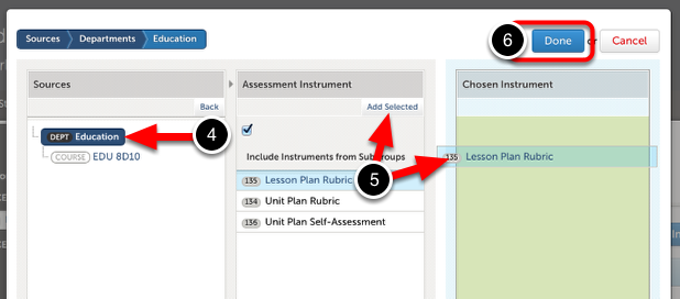 Step 2: Select the Assessment Instrument