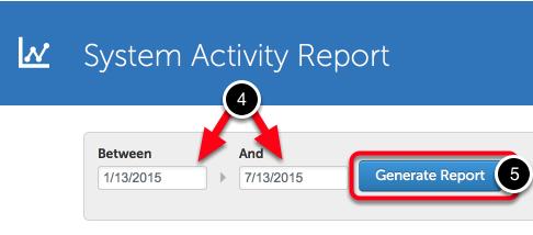 Step 2: Generate Report
