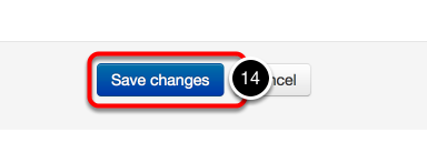 Step 4: Save Changes