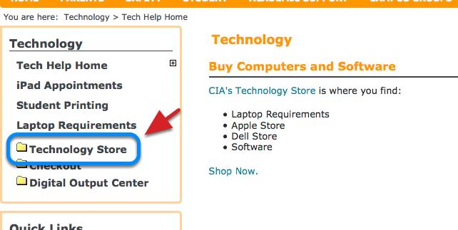 Technology - Tech Help Home | myCIA