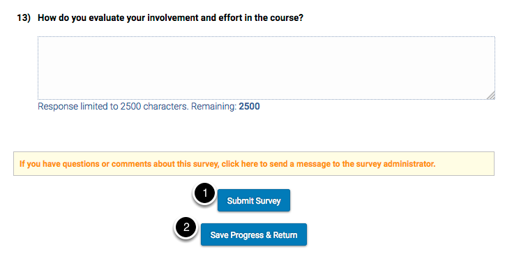 Student Survey access test - (Private Browsing)