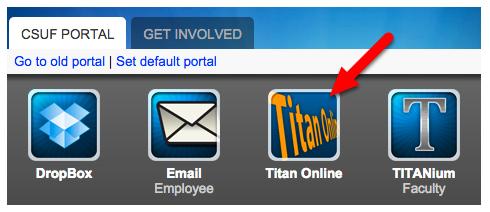 Click on Titan Online.