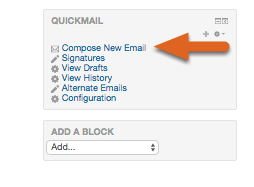 Click on Compose New Email.