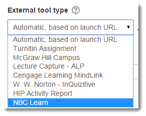Select NBC Learn.