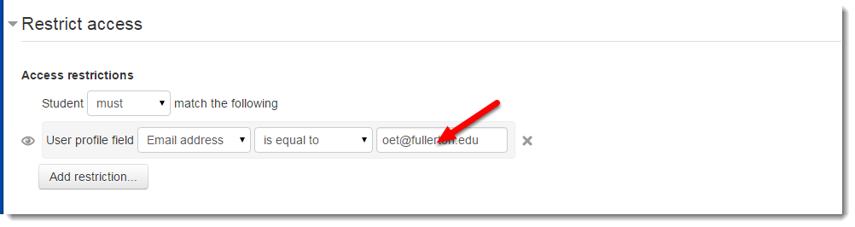 Type the email address of the user who should have access.