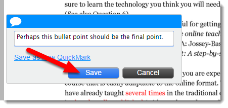 Click on Save.