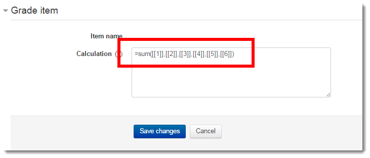 Add each of the ID numbers to the formula.