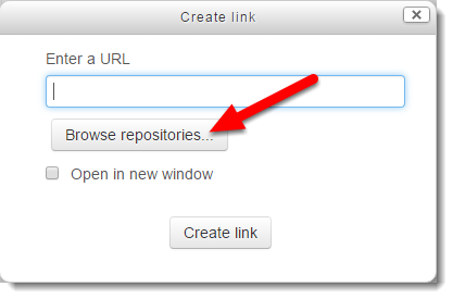 Click on Browse repositories.