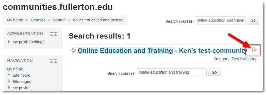 Click on the Self-enrollment icon.