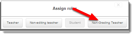 Click on a new role to add.
