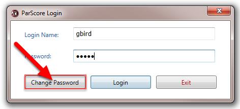Click on Change Password.