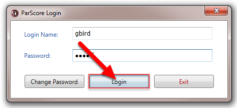 On subsequent Logins, enter your Login Name and Password, then click on Login.