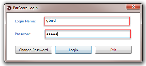 Type your Login Name and Password.