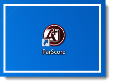 Launch the ParScore program.