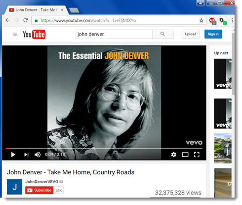 In a new tab, navigate to the YouTube video you want to insert.