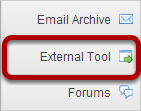 To access this tool, select External Tool (LTI) from the Tool Menu in your site.