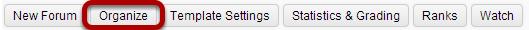 Select the Organize button