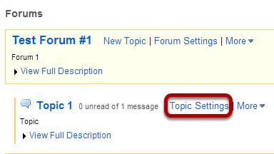 Click Topic Settings.