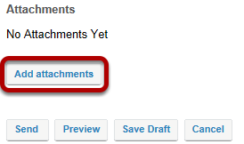 Add attachments. (Optional)