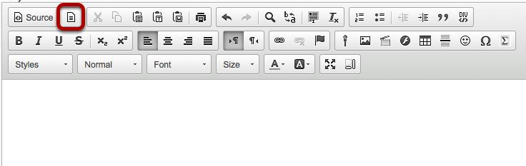 Click the Template icon.