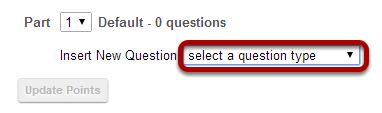 For a basic survey, select Survey from the drop-down menu.