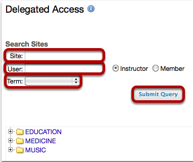 Search by site, user, or term.