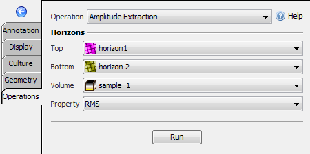Amplitude Extraction to get RMS