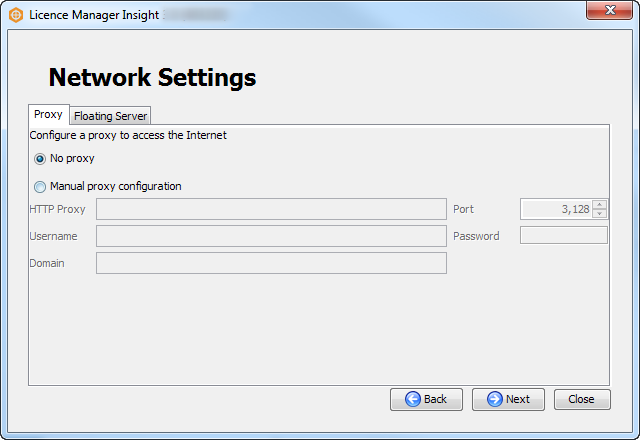 Check network settings