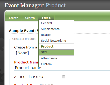 Edit your SEO settings.