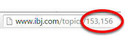 To view your compound landing page: On the front-end of your website, type the two ID#s in the URL, separated by a comma and no space as shown in the image below.