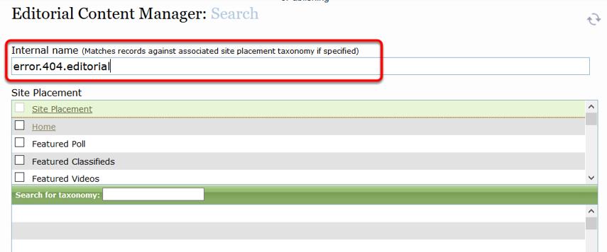 Search for error.404.editorial