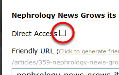 Allow a Third-Party Partner or Advertiser to View an Article Before It's Published