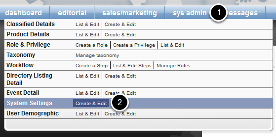 Control whether the right rail is on or off by navigating to the following in Admin: sys admin > System Settings > Create & Edit