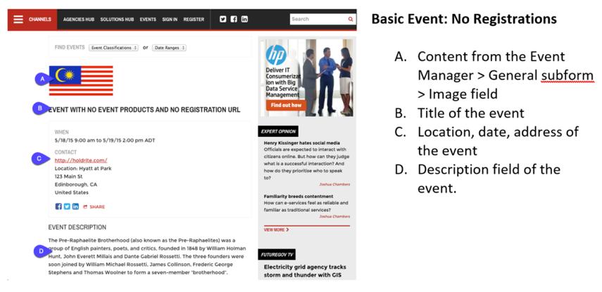Basic Layout: No Registrations