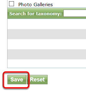 Scroll down and click Save.
