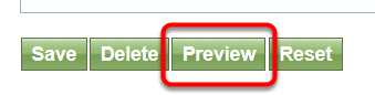 To preview your page, return to Edit > General, scroll down, and click Preview.