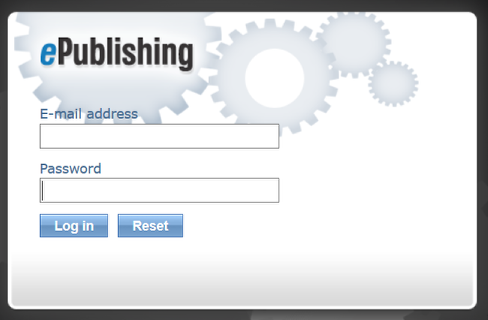 Try that email address and password when logging into the Admin tools.