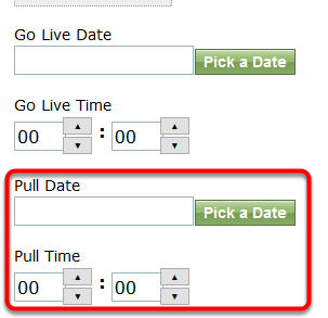 If the company purchased a longer directory listing subscription, update the expiration date accordingly.