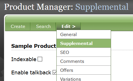Review that product to see if it has either of the following Classification taxonomies: