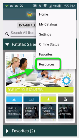 Tap on Resources