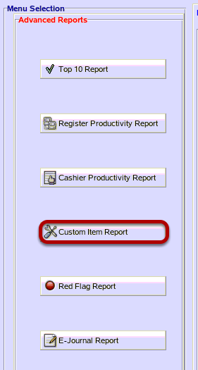 Custom Item Report