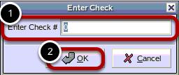 Enter Check