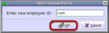 New Employee Record